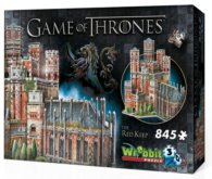 3D puzzle Hra o trůny: The Red Keep 845 dílků