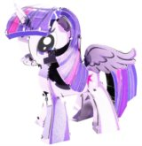 3D puzzle My Little Pony: Twilight Sparkle
