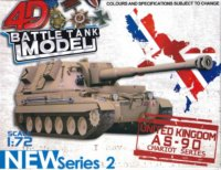 3D puzzle Vojenský tank United Kingdom AS-90