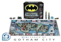 4D puzzle Batman: Mini Gotham City
