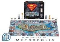 4D puzzle Superman: Mini Metropolis