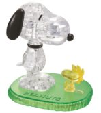 Crystal puzzle: Snoopy & Woodstock 3D