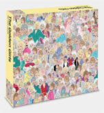 Čtvercové puzzle The Golden Girls 500 dílků