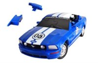 3D Puzzle Ford Mustang 1:32 modrý