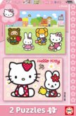 Puzzle Hello Kitty 2x20 dílků