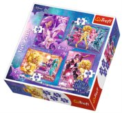 Puzzle Disney Star Darlings 4v1 (35,48,54,70 dílků)