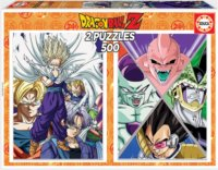 Puzzle Dragon Ball 2x500 dílků
