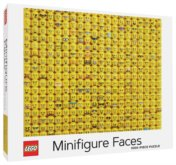 Puzzle LEGO® Minifigure Faces 1000 dílků