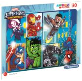 Puzzle Marvel Super Hero Adventures 30 dílků