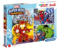 Puzzle Marvel Super Hero Adventures 3x48 dílků