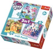 Puzzle My Little Pony 3v1 (20,36,50 dílků)