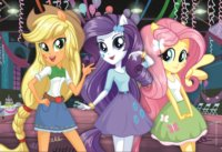 Puzzle My Little Pony: Equestria Girls 160 dílků