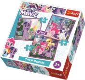 Puzzle My Little Pony Film 3v1 (20,36,50 dílků)