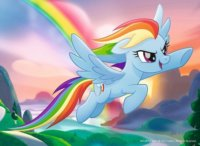 Puzzle My Little Pony: Rainbow Dash 20 dílků