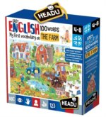 Puzzle Easy English: Na farmě 108 dílků