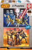Puzzle Star Wars: Rebels 2x100 dílků