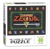 Puzzle The Legend of Zelda Classic 550 dílků