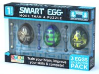 Smart Egg sada 3ks (1-vrstvé)
